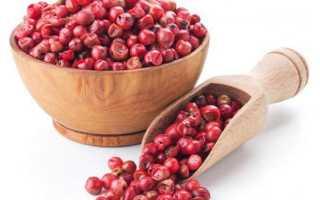Розовый перец горошком: что это за приправа, как растет и куда применяется