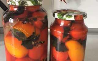 Сладкие помидоры в литровых банках на зиму: лучшие рецепты маринованных томатов, советы как посолить их без стерилизации