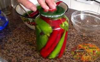 Острый перец маринованный в уксусе холодным способом: как замариновать горький перец на зиму в банках