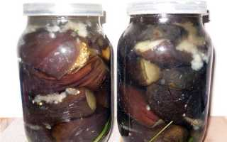 Маринованные баклажаны без стерилизации на зиму: как замариновать синенькие в банках вкусно целые и кусочками