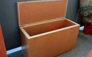 Ящик для картошки: как сделать своими руками, для хранения дома в подвале и в погребе, ларь из пеноплекса и пенопласта, как подобрать емкость, чем обработать