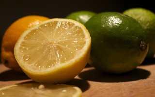 Как отличить лайм от лимона?