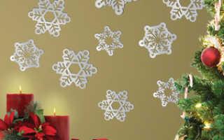 Стены на Новый год: как украсить, стену на Новый год, в малогабаритной квартире
