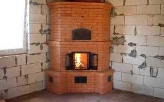 Печка из кирпича своими руками: как сделать печку из кирпича, мини-печь порадовка