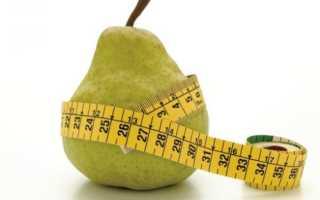 Грушевая диета: можно ли есть груши при похудении, худеют от них или толстеют, варианты меню и разгрузочный день на груше, отзывы и результаты