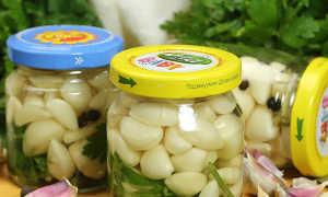 Маринованный чеснок на зиму зубчиками: рецепты маринования, необходимые ингредиенты и советы опытных домохозяек
